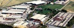The Zeno manufacturing facility from the air